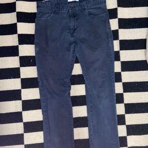 Calvin Klein navy blue pants slim fit